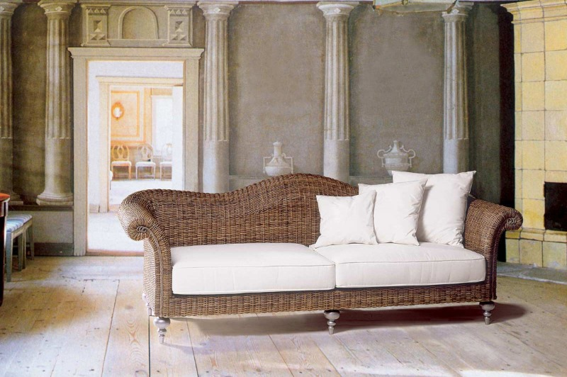 rattan sofa 3 sitzer vegas rattanm bel und flechtm bel in bayern. Black Bedroom Furniture Sets. Home Design Ideas