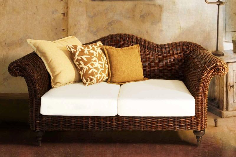 rattan sofa 2 sitzer vegas rattanm bel und flechtm bel in bayern. Black Bedroom Furniture Sets. Home Design Ideas