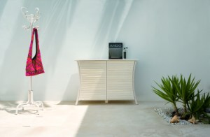 Highboards, Sideboards, Konsole and Buffet aus Rattan