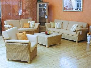 wohnzimmerm bel rattanm bel und flechtm bel bei der m m. Black Bedroom Furniture Sets. Home Design Ideas